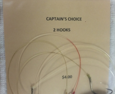 Captians choice double hooked riggs